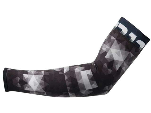 Bioracer Subli Camo warmers grijs/zwart